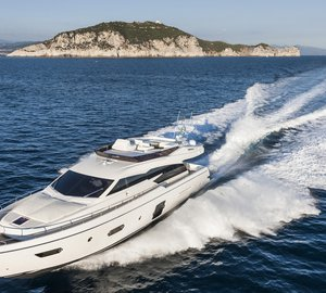 World premiere for Ferretti 750 Yacht at Cannes International Boat Show 2013