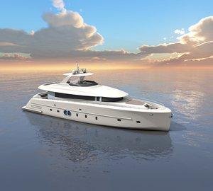New 24m motor yacht MALLORCA concept by Moonen and Nick Mezas