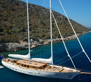 New 40m modern classic sailing yacht ZanZiba project sold and almost completed