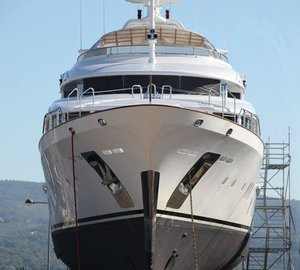 New stabilisation system for 44m Benetti motor yacht ZITA at Monaco Marine la Ciotat