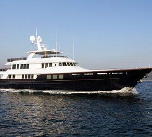 Burger Boat to showcase 45m RMK Marine luxury yacht KARIA at Monaco Yacht Show