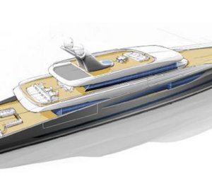Royal Huisman and Andrew Winch Designs unveil 80m mega yacht DART concept at Monaco Yacht Show