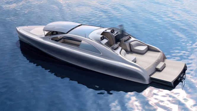 ARROW460-Granturismo superyacht tender concept