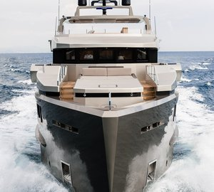 Admiral Tecnomar Yacht CACOS V recognized as the most silent motor yacht in the world
