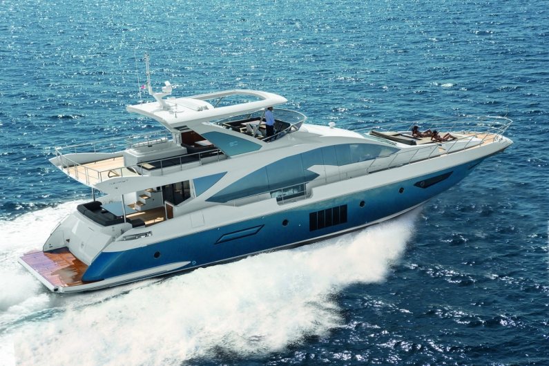 Azimut 80 superyacht to be displayed at the 2013 Cannes Boat Show