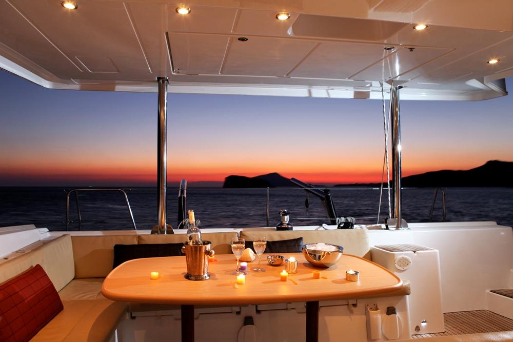 Catamaran charter yacht IDEA