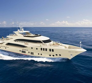 Gulf Craft Reveals Exciting New Interior Design Concept for Majesty 155 Yacht at Monaco Yacht Show