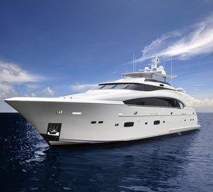 Debut of first Horizon RP110 superyacht ANDREA VI at Ft. Lauderdale Boat Show 2013