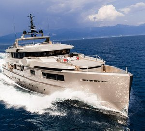 Additional images of Admiral Tecnomar Yacht CACOS V on display at upcoming Monaco Yacht Show