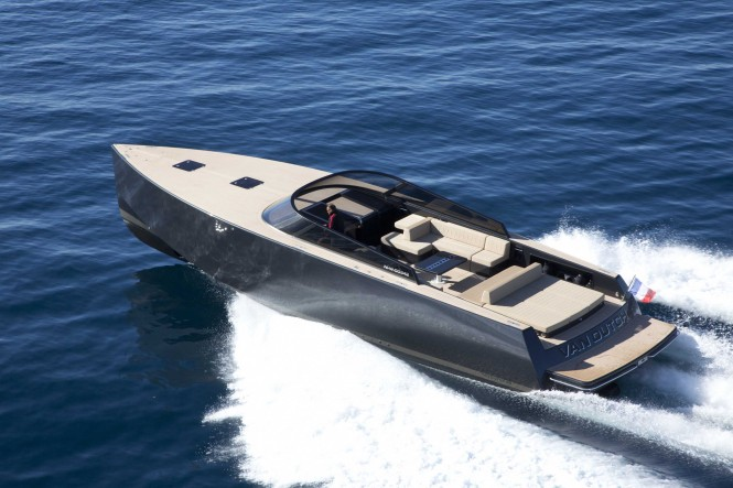 Luxury mega yacht tender by VanDutch