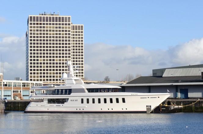 Luxury motor yacht Blue Sky by Feadship