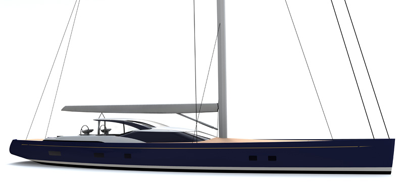 New 31m superyacht signed by Pendennis with Dubois