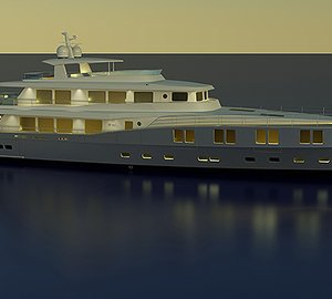 New 50m motor yacht B165 concept revealed by Barracuda at Monaco Yacht Show
