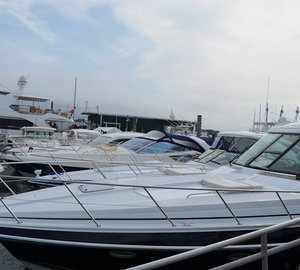 Newport International Boat Show 2013 opened today
