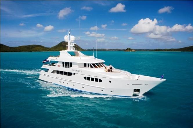 PERLE BLEUE superyacht