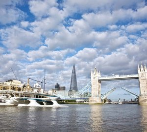 "PlanetSolar reaches London as the final stage of the ""DeepWater"" scientific expedition"