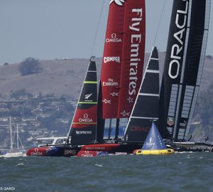 34th America's Cup: Race 10 won by Emirates Team New Zealand