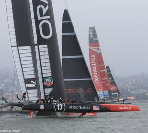 Oracle Team USA wins race 4 of the 2013 America's Cup Finals