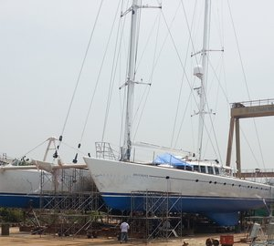Superyacht refit projects at Yacht Solutions