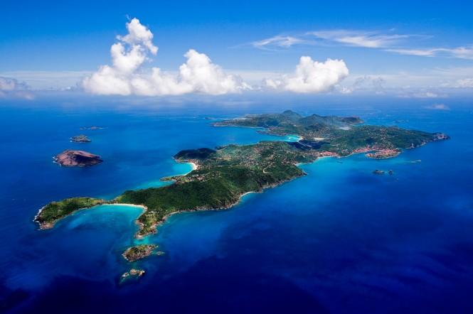St Barth iin the Caribbean