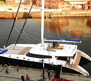 New Ocean Data System version of 'UpSideUp' set aboard Sunreef 80 Carbon Line Yacht LEVANTE