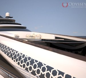 Odyssey Yachts release teaser images of new motor yacht Project NAUTILUS
