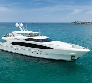 Motor yacht FINISH LINE (hull T-058) delivered by Trinity Yachts