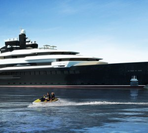 Impressive 110m Oceanco mega yacht RIALTO (DP002) design presented at MYS 2013