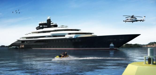 110m Oceanco superyacht RIALTO (DP002) design