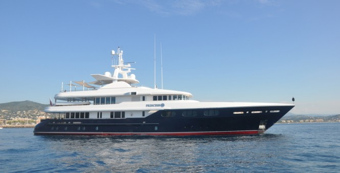 48m superyacht Princess Too to undergo an extensive refit at ICON Yachts