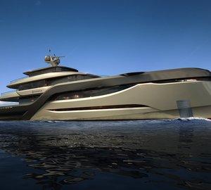 New E-motion superyacht series by Admiral Tecnomar and Dobroserdov Design