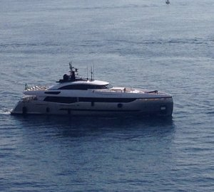 Premiere of Columbus Sport Hybrid 40M Yacht at Monaco Yacht Show 2013