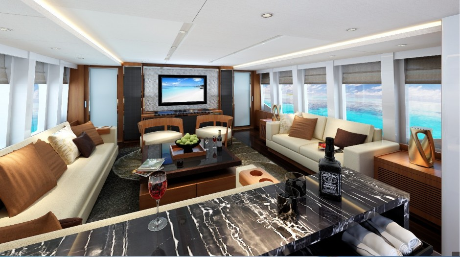 Electra 100 superyacht FREEDOM - Interior