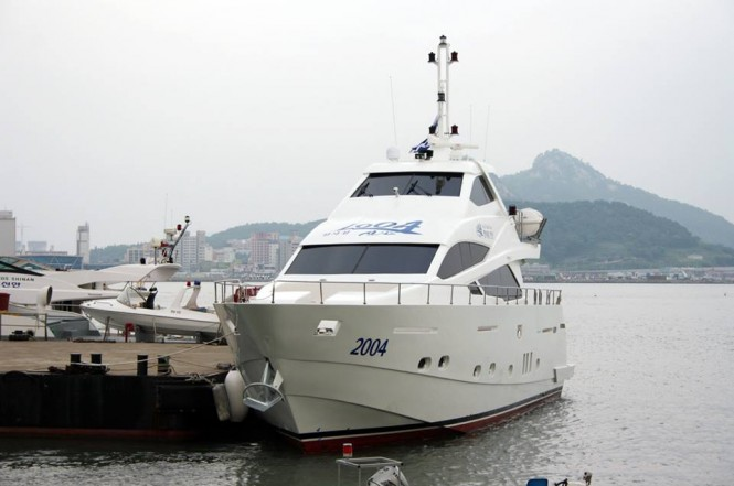 Express 80 Yacht launched by GHI Yachts