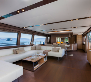 US premiere for motor yacht Ferretti 960 at FLIBS 2013