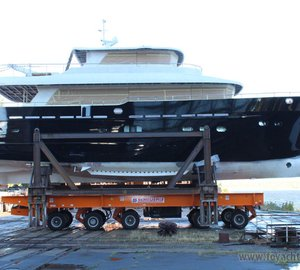 Launch of 24m motor yacht Fifth Ocean 24 by Fifth Ocean Yachts