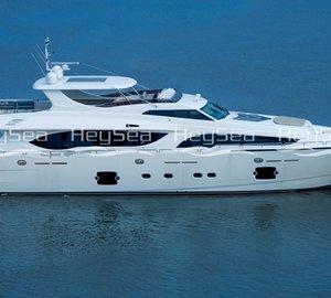 HeySea delivers first Asteria 108 motor yacht CONTESSA