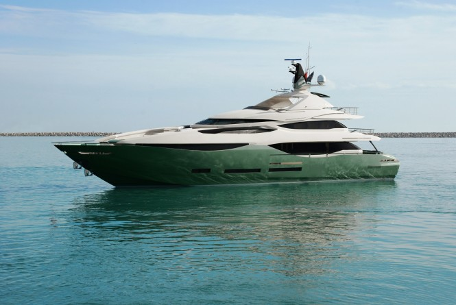 First Peri 41 Yacht Bibich Too - a sistership to Desire Yacht