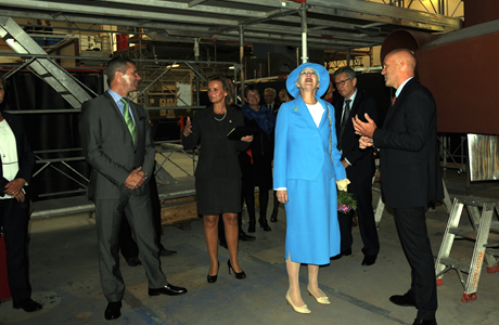 Her Majesty Queen Margrethe II of Denmark at Danish Yachts