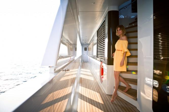 Luxury mega yacht Galactica Star - Photo Jeff Brown