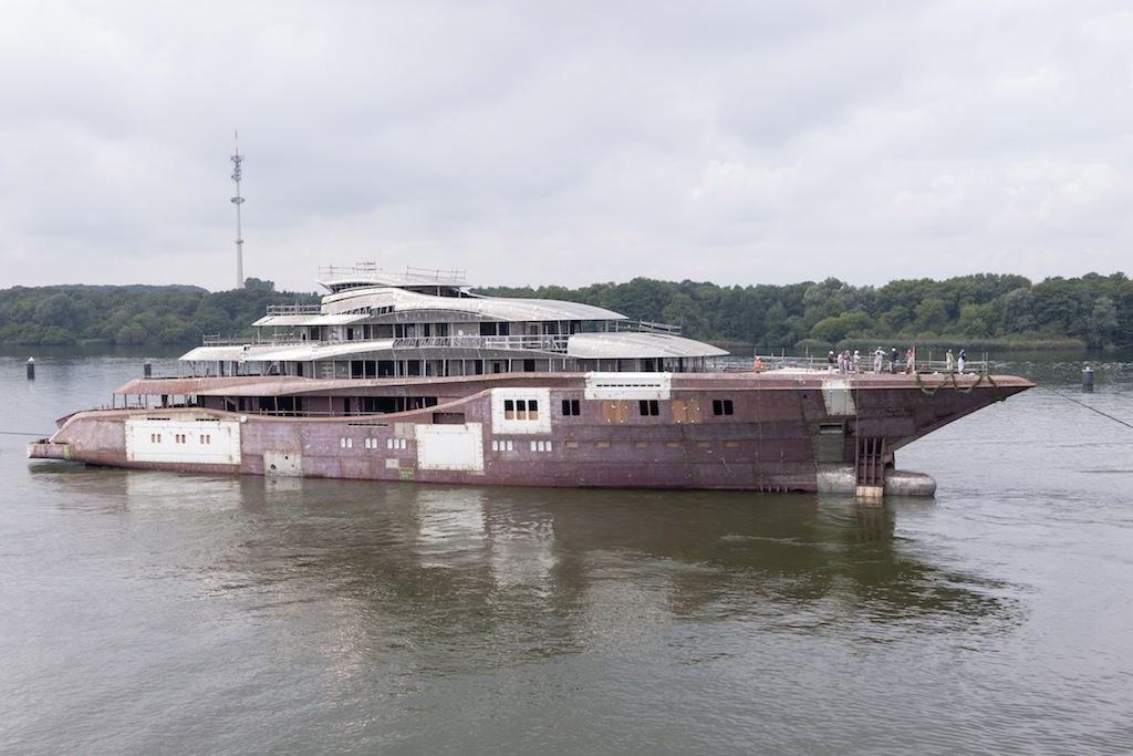 Luxury mega yacht Project Orchid