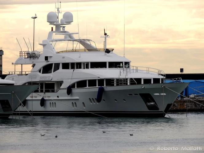 Luxury superyacht HARMONY III - Photo by Roberto Malfatti