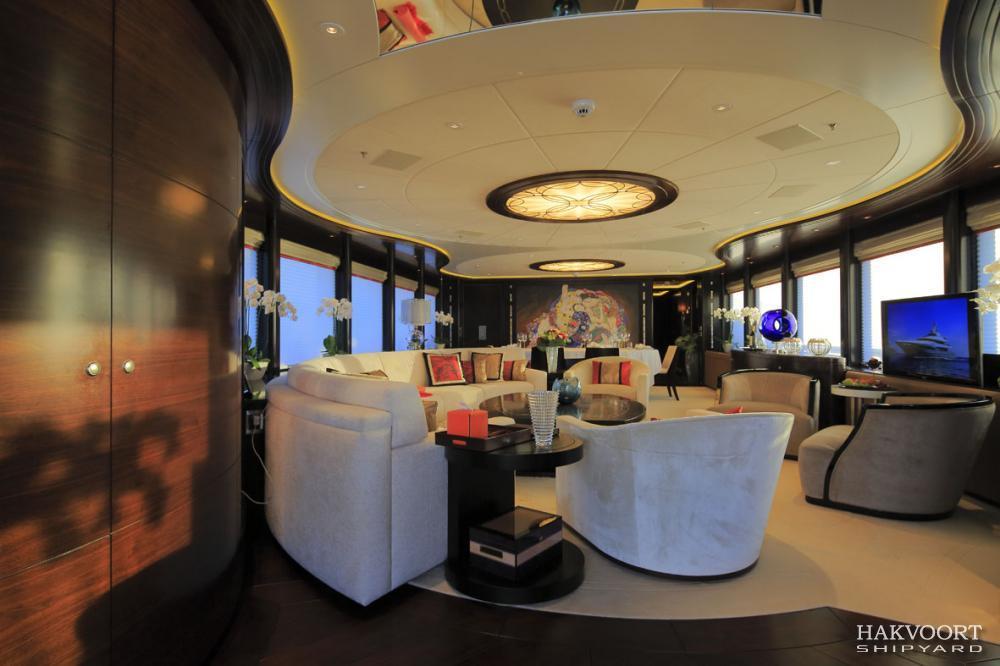 Luxury Yacht Apostrophe Interior Yacht Charter