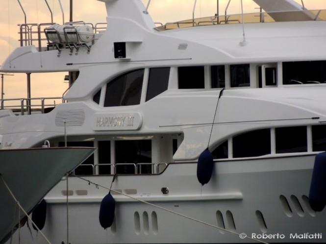 Luxury yacht HARMONY III - Photo Roberto Malfatti