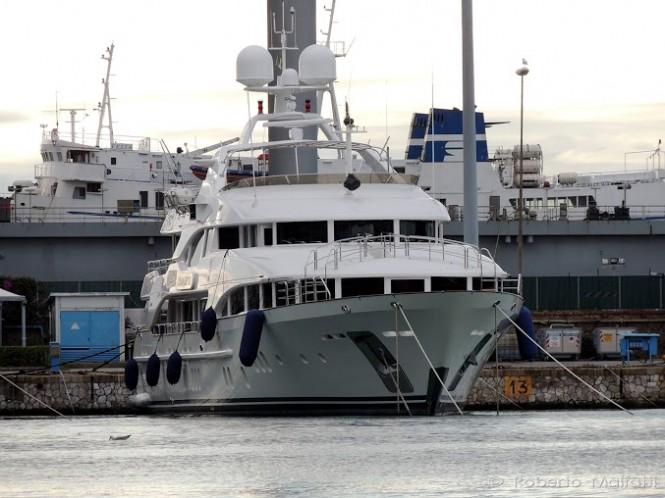 Luxury yacht HARMONY III - Photo by Roberto Malfatti