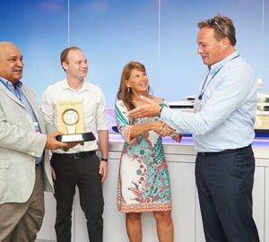 "Luxury superyacht NIRVANA awarded Robb Report's 2013 ""Best of the Best"" Award"