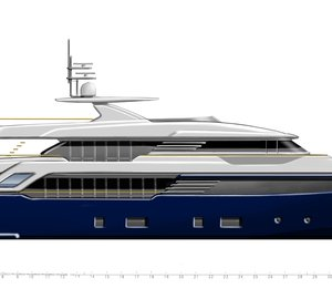 New 44m motor yacht SUPER CONERO project presented by CRN at MYS