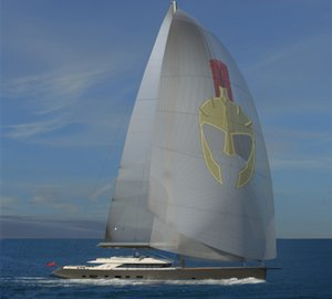 New 50m sailing yacht TROY by Esenyacht with delivery in 2014