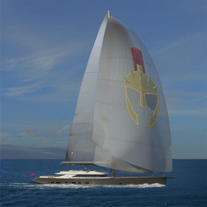 New 50m sailing yacht TROY by Esenyacht