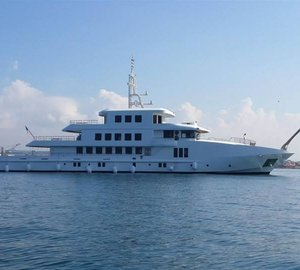 Photos of new 55m motor yacht VOGUE launched by Orucoglu Shipyard
